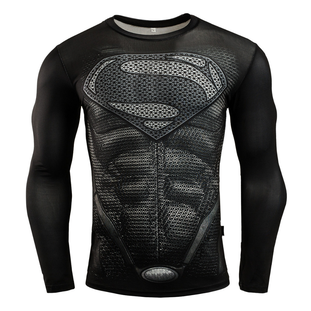 New Punisher Gym T Shirt Compression Rashgard For Men Fitness Dry Fit Training Shirt Sport Running T-Shirt Tops
