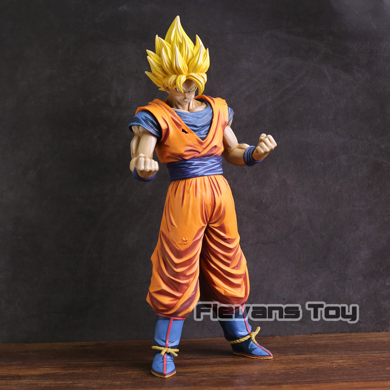 Dragon Ball Z Grandista Super Saiyan Son Goku Gokou Manga Dimensions PVC Figure Collectible Model Toy sale original banpresto ros resolution of soldiers grandista collection figure super saiyan son goku gokou dragon ball z 28cm