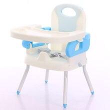 Cadeira de jantar de plástico do bebê dobrável cadeira alta cadeira de assento de criança cadeira de alimentação do bebê chaise haute bebe silla para comer bebe quente novo