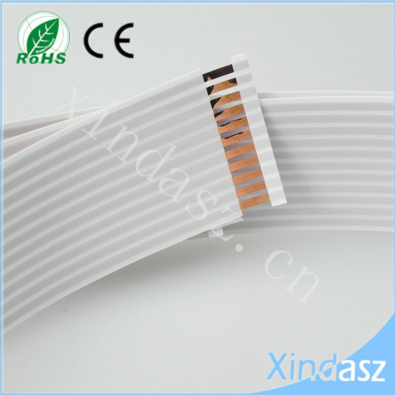 Tinned copper 11pin 21mm width 605mm length 1.8MM pitch ffc flexible flat airbag cable High Quality! wzsm new ffc fpc flat flexible cable 0 5mm pitch 36 pin reverse length 70mm 80mm 100mm 160mm 180mm width 18 5mm