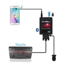 цена на Moonet Bluetooth Car MP3 USB/AUX 3.5mm Adapter Stereo Hands Free Auto CD Adapter fit for Mazda3/5/6 MPV CX-7 RX-8 QX992