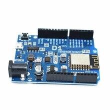 TENSTAR РОБОТ Smart Electronics ESP-12F «Вемос» D1 WiFi uno основе ESP8266 щит для arduino Совместимый IDE