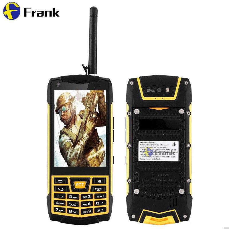 bilder für Original Android 6.0 Robuste N2 Telefon 3G Smartphone IP68 Wasserdicht stoßfest Handy GPS MT6580 Quad Core Russische Tastatur