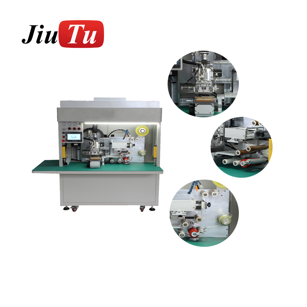 Full Automatic Film Lamination Machine Mobile LCD Panel Glass OCA Film Polarizer Film Phone Repair Machine jiu(8)