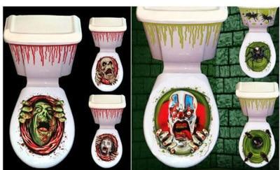 Diy creatieve halloween festival badkamer wc stickers d horrible