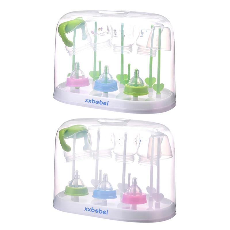 Baby Bottle Drying Rack Dryer Milk Nipple Glass Sterilise Teats Cups Feeding