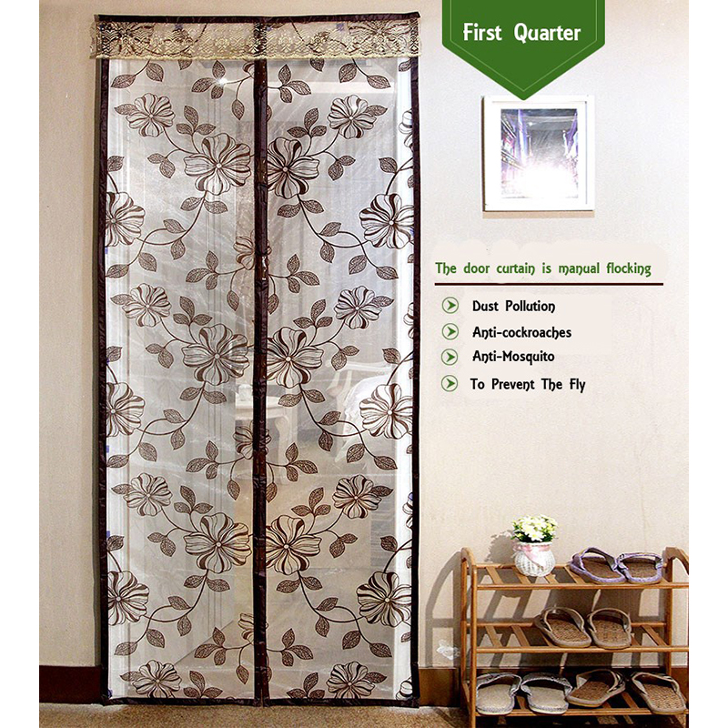 Summer Anti Mosquito Insect Fly Bug Curtains Magnetic Mesh Net Automatic Closing Door Sc ...