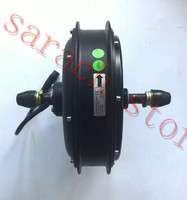 1500W 48V Hub Motor Electric Bicycle Brushless Non gear Rear Motor For Bicycle , electric bike conversion kit