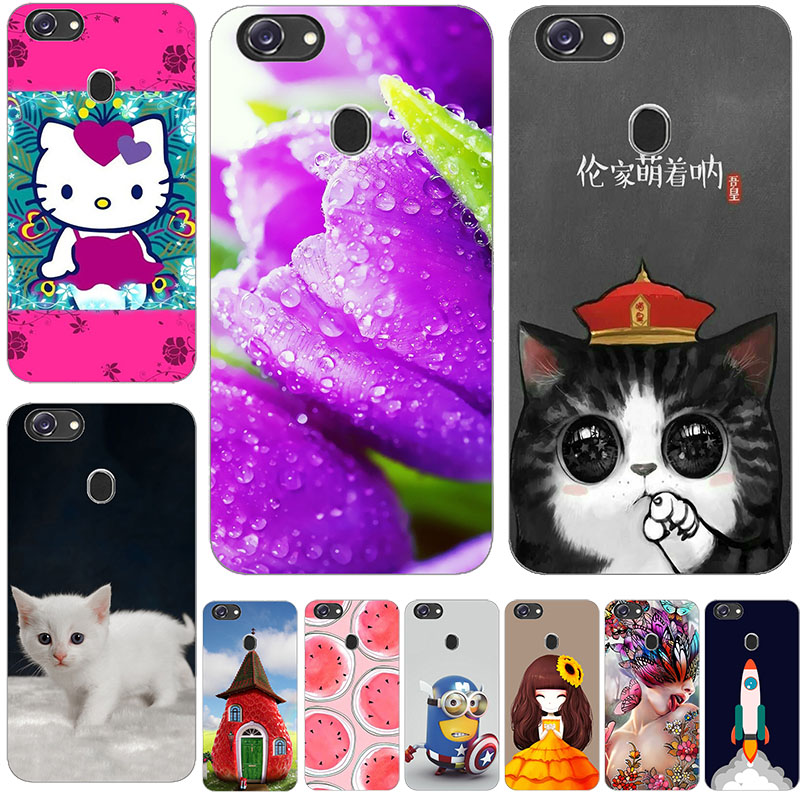 77b0ac03ee For OPPO F5 Case Silicone Cute Cat Cartoon Clear Back Phone Cases For OPPO  A73 Youth Cover TPU Animal Girls for OPPO F5 A73 A73T