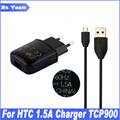 New 5V 1.5A TC-P900 Charger Micro USB Data Sync Cable For HTC One M9 M8 M7 One 2 X V S E8 M8ST Butterfly 2 S 901E 901S X920E