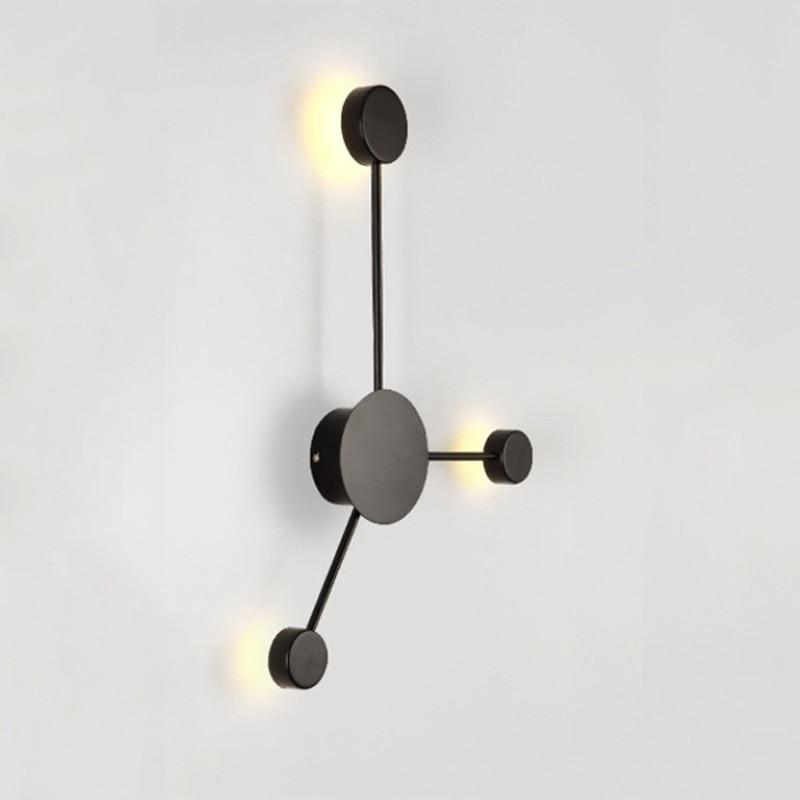 Personnalité créative nordique applique murale salon chambre chevet lumière escalier allée couloir luminaire café lampe