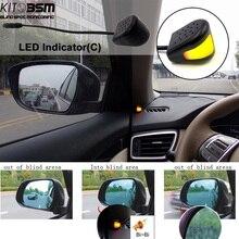 kitbsm universal easy installation 24HZ microwave side collision Parking Assistance car blind spot sensor assist BSM system