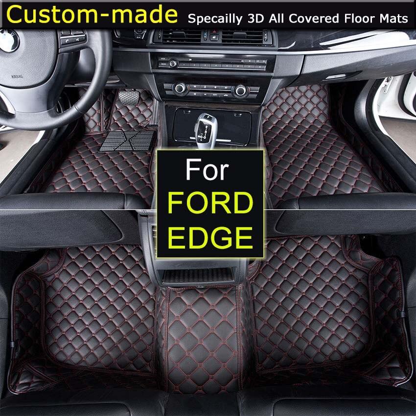 new rear ford floor mats set pin oem front edge black ebony carpeted