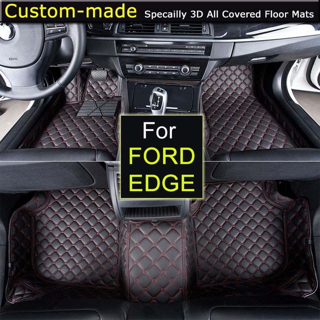 For Ford Edge Car Floor Mats Customized Foot Rugs Custom Carpets Car Styling For S