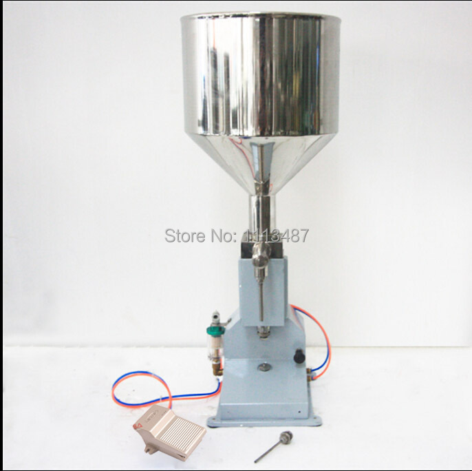 High Quality Pneumatic Paste & Liquid Filling machine Filler 5-50ml high quality pneumatic cosmetic paste liquid filling machine cream filler 5 50ml