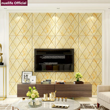 3d irregular pattern soft package wallpaper bedroom living room childrens waterproof anti-collision foam wall stickers