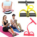 1pcs Professional Slimming Fitness Tubing Resistance Band With Exercise Pedal Training Fitness Equipment