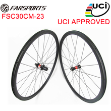 FSC30-CM-23, Toray carbon fiber 30mm triathlon bike carbon wheelset , DT hub straight pull hub , custom wheels available