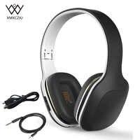 Wireless Bluetooth Kopfhörer Headset Stereo Über-Ohr Tiefe Bass Kopfhörer Faltbare Kopfhörer Wired Headsets Für iPhone Samsung