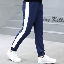 купить Kids Pants 5-13years Boys Casual Pants Kids Clothing Cotton Boys Long Trousers Children Boys Clothing Sport Pants Spring онлайн