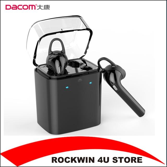 50dc6edf5cb Dacom GF7 TWS Black True Wireless Bluetooth 4.2 Earbuds earphones Mini  In-Ear Double Twins EARPHONE for iphone7 Android XIAOMI