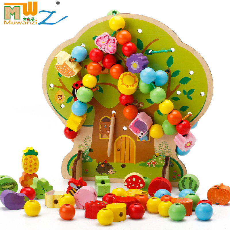 Детские игрушки для детей, подарок для детей, для девочек и мальчиков, для дошкольников, для детского сада, Обучающие деревянные игрушки, увл...