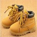 Cómoda niños botas de nieve para niños zapatos para niñas niños botas de moda zapatos de bebé inferiores suaves niñas de arranque 21-25 otoño invierno niño botas zapato