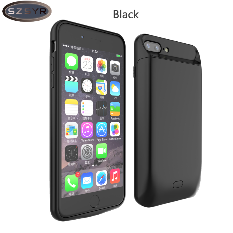 New <font><b>Battery</b></font> Charger <font><b>Case</b></font> For <font><b>iPhone</b></font> <font><b>6</b></font> 6s 6Plus 5000/7200mAh Power Bank <font><b>case</b></font> <font><b>Battery</b></font> Backup Pack Charging <font><b>Case</b></font> for <font><b>iPhone</b></font> 6s image