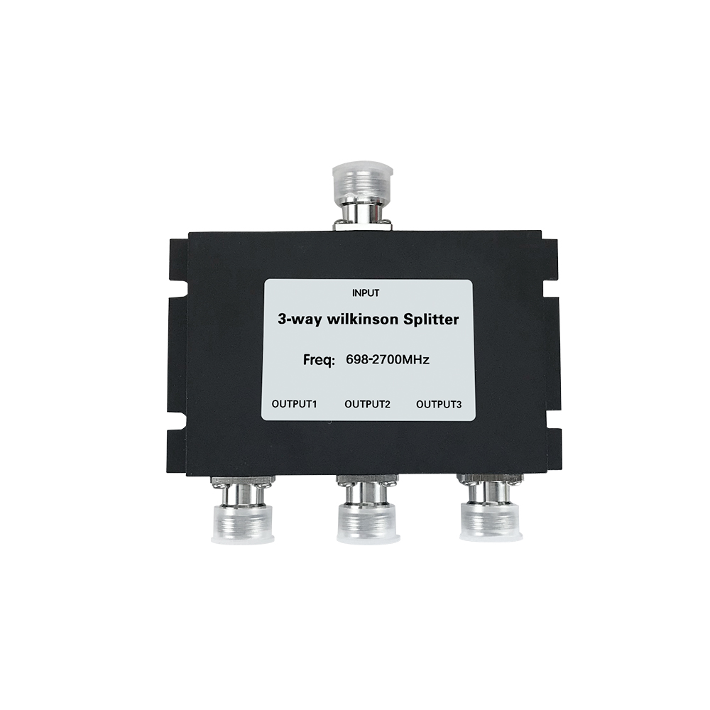 3 Way Power Splitter 700-2700mhz Low Loss Microstrip Power Divider For GSM 3G 4G Cell Phone Signal Booster Repeater