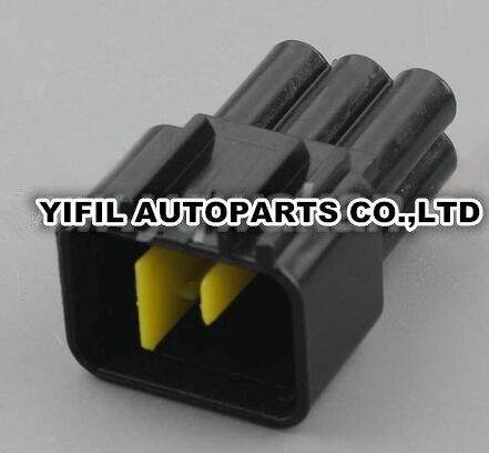100pcs lot Furukawa 6 Pin Way Male High voltage Ignition Coil Plug Connector For Ford Mondeo