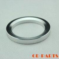 1PC Silver Anodized CNC Machined Aluminum 805 845 211 Vintage Tube Amplifier Decorating Ring Washer Base