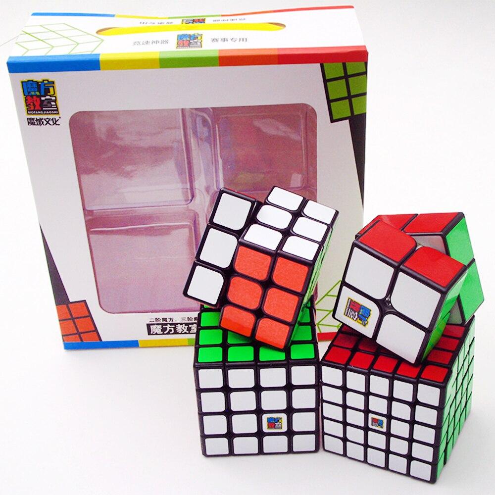 Cubes Set MoYu 2*2 sur 3*3 4*4 5*5 vitesse Puzzle Cubes magiques classe 3x3x3 4x4 5x5x5 2x2x2 Cubo megico Mofangjiaoshi