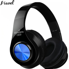 цена на Headphones Bluetooth Headset Wireless  FM Radio TF Card HIFI Earphone Calling Bass With Mic Foldable Long Battery Life
