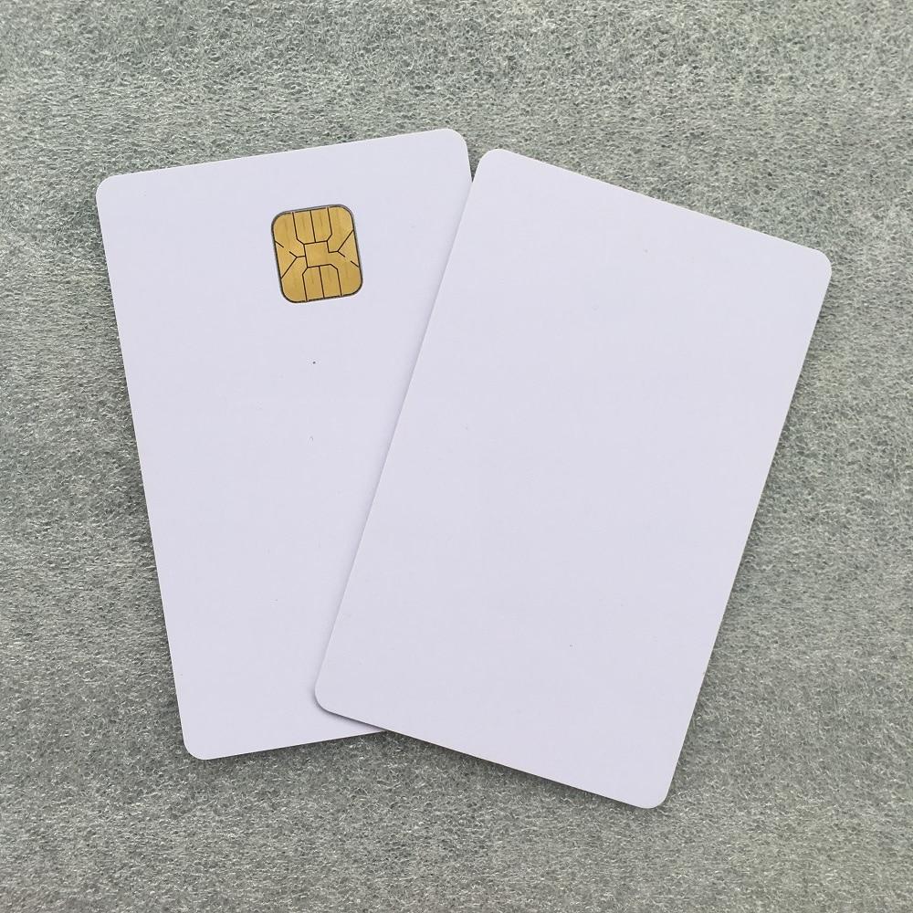 Wholesale 1000pcs Iso7816 Contact Memory Smart Card AT88SC153 IC Card