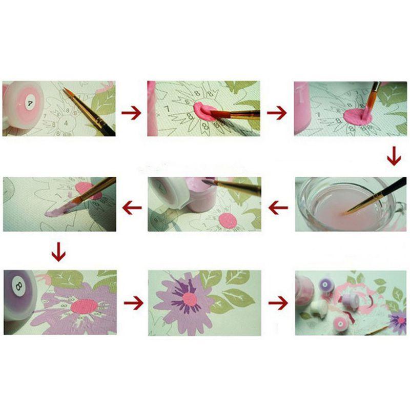 40 * 50CM DIY Майлы сурет бояу бойынша - Үйдің декоры - фото 6