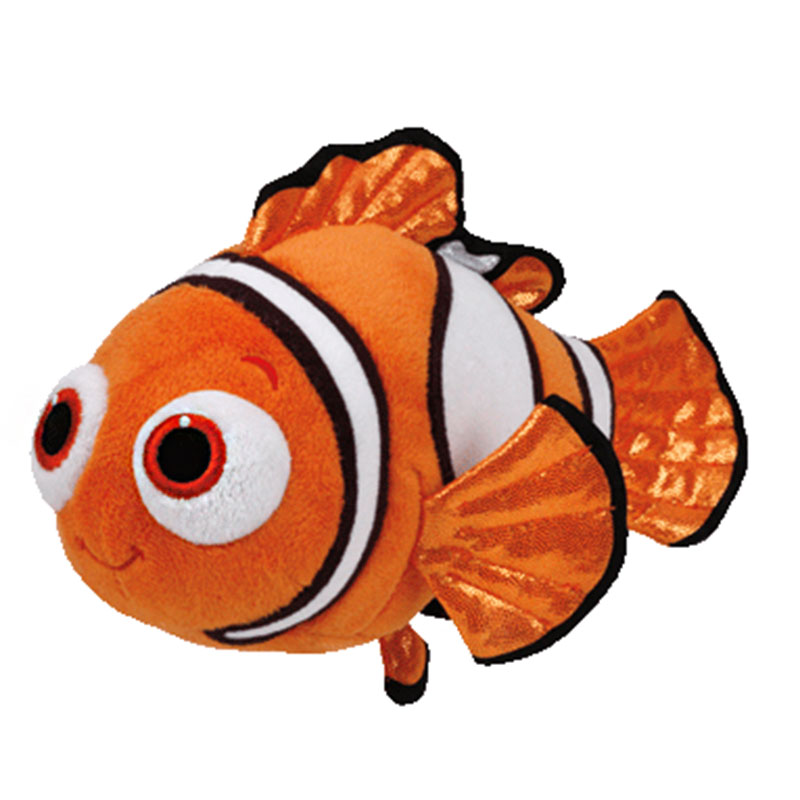 cd6c27b44ac Online Shop Ty original Beanie Buddies Plush Toy Stuffed Animal Pixar Movie Finding  Dory Fish Nemo Brand New Kids Toy Birthday Gift