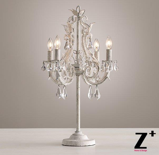 Replica Item New lights Palais Table Lamp White LIGHTS family E14 LED Table lamp ...