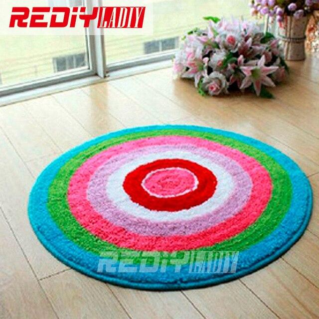 DIY Teppich Teppich Farbe Mandala Knüpfteppich 3D Häkeln Wandteppich ...