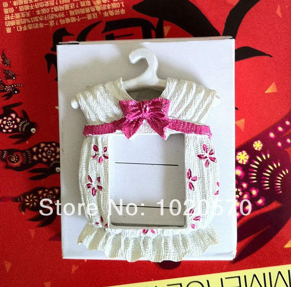 Hot sale Baby shower Pink color Cute Baby Themed Photo Frame Favors ...