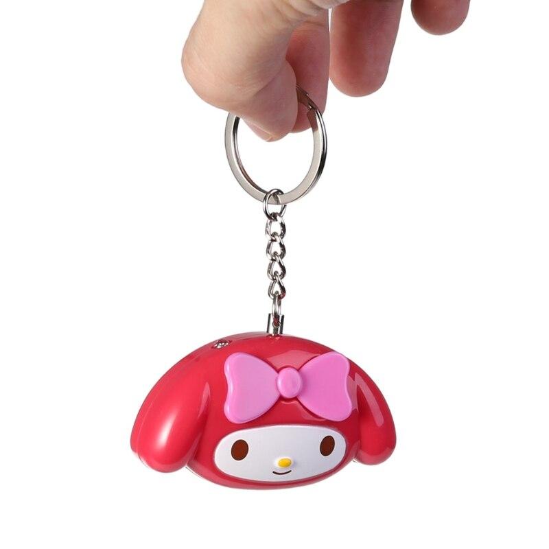 Mini Self Defense Keychain Alarm Super Loud Personal Security Emergency Keyring mini motorcycle helmet keychain cute keyring