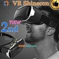 Alta calidad shinecon vr 2.0 ii 3d gafas de realidad virtual auriculares google cartón smartphone caja casco vr para 4.7-6'phone