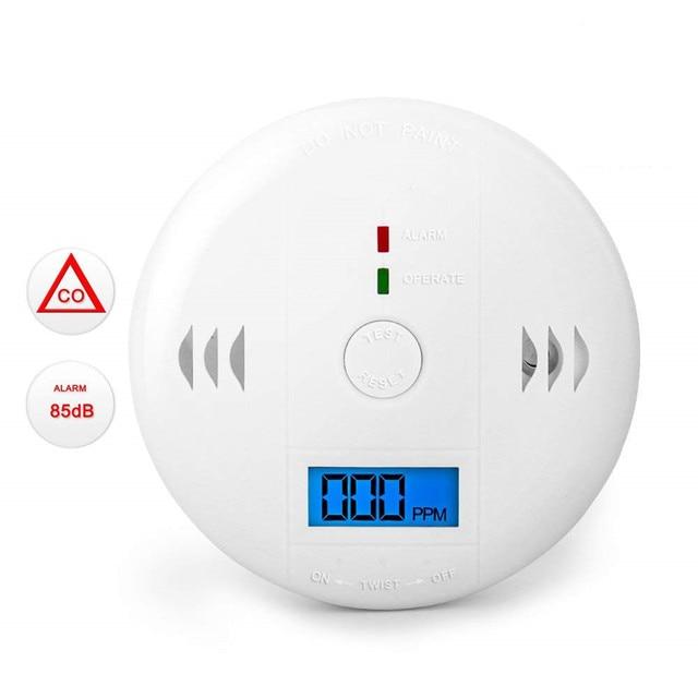 LESHP Carbon Monoxide Detection Detector LCD Portable