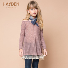 HAYDEN woman sweater costume lengthy sleeve fairly crochet costume spring sundress teenage ladies garments 10 12 years kids clothes