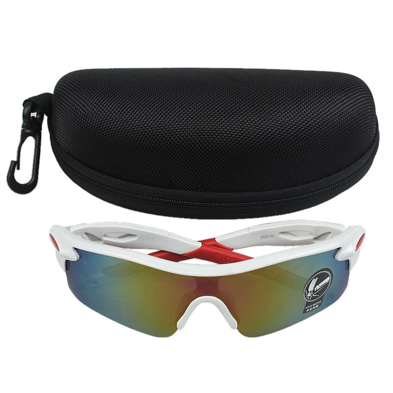2018 Outdoor Sport Cycling Bicycle Bike Riding Sun Glasses Eyewear Goggle UV400 Lens Glasses Case gafas ciclismo#ALNO