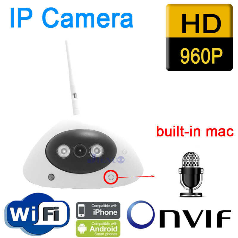 Free shipping IP Camera HD audio onvif cctv Cameras cmos infrared 960P wifi wireless video systems security home indoor