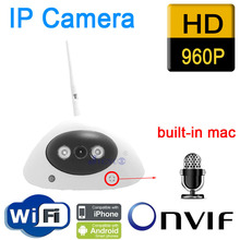 Free shipping IP Camera HD audio onvif cctv Cameras cmos infrared 960P wifi wireless video systems security home indoor 5g wireless wifi phone screen av hdmi dual output tv dongle adapter mirror display for android ios windows