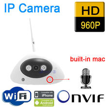 Ip камера видеонаблюдения hd аудио onvif cmos 960p wi fi