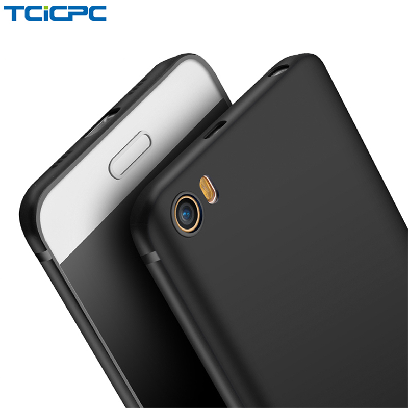 TCICPC Case Xiaomi Back-Cover Soft-Scrab Silicone Full-Protected M5 360