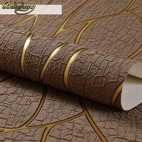 Luxury Deerskin Line Papel De Parede 3D Flocking Wallpaper For Bedroom Living Room Home Decoration 3D