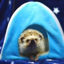 [MPK] Складная мини-Ежик палатка, Igloo для маленьких домашних животных, маленькие белки хомяк палатки